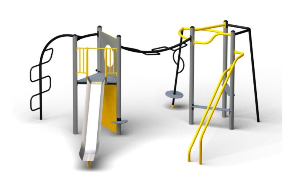 Photograph of Multiplay Equipment for Children