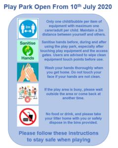 Play Park Covid-19 Instructions